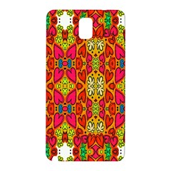 Abstract Background Design With Doodle Hearts Samsung Galaxy Note 3 N9005 Hardshell Back Case