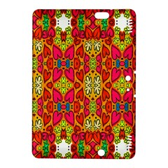 Abstract Background Design With Doodle Hearts Kindle Fire HDX 8.9  Hardshell Case