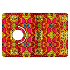 Abstract Background Design With Doodle Hearts Kindle Fire HDX Flip 360 Case