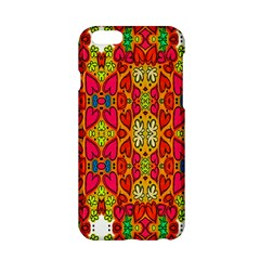 Abstract Background Design With Doodle Hearts Apple Iphone 6/6s Hardshell Case