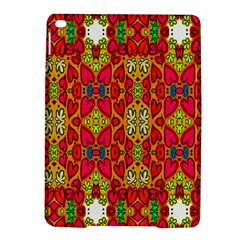 Abstract Background Design With Doodle Hearts iPad Air 2 Hardshell Cases