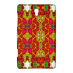 Abstract Background Design With Doodle Hearts Samsung Galaxy Tab S (8.4 ) Hardshell Case