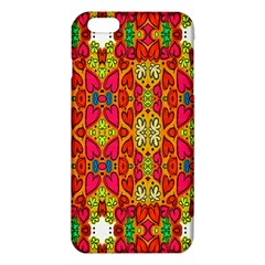 Abstract Background Design With Doodle Hearts iPhone 6 Plus/6S Plus TPU Case