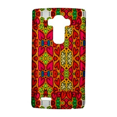Abstract Background Design With Doodle Hearts Lg G4 Hardshell Case