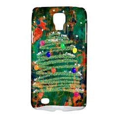 Watercolour Christmas Tree Painting Galaxy S4 Active