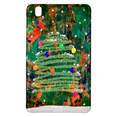 Watercolour Christmas Tree Painting Samsung Galaxy Tab Pro 8.4 Hardshell Case