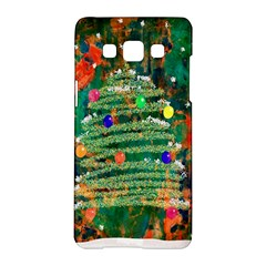 Watercolour Christmas Tree Painting Samsung Galaxy A5 Hardshell Case