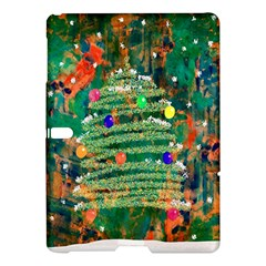 Watercolour Christmas Tree Painting Samsung Galaxy Tab S (10.5 ) Hardshell Case