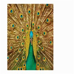 Peacock Bird Feathers Small Garden Flag (Two Sides)