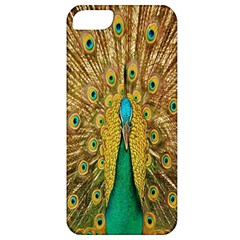 Peacock Bird Feathers Apple Iphone 5 Classic Hardshell Case