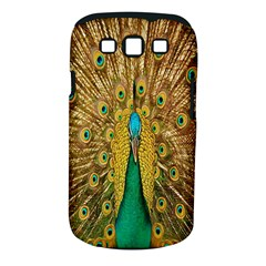 Peacock Bird Feathers Samsung Galaxy S Iii Classic Hardshell Case (pc+silicone)