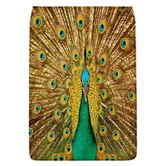 Peacock Bird Feathers Flap Covers (L)