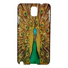 Peacock Bird Feathers Samsung Galaxy Note 3 N9005 Hardshell Case