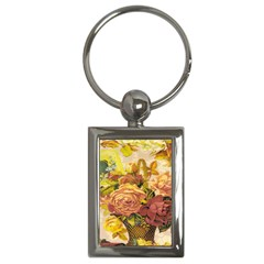 Victorian Background Key Chains (Rectangle)
