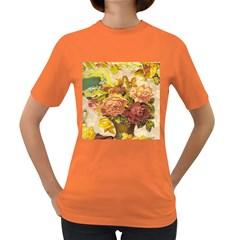 Victorian Background Women s Dark T-Shirt