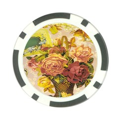 Victorian Background Poker Chip Card Guard