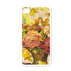 Victorian Background Apple Iphone 4 Case (white)