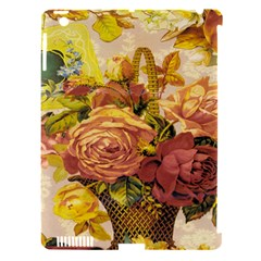 Victorian Background Apple iPad 3/4 Hardshell Case (Compatible with Smart Cover)