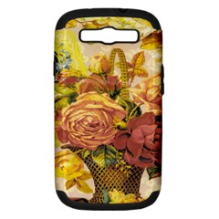 Victorian Background Samsung Galaxy S III Hardshell Case (PC+Silicone)