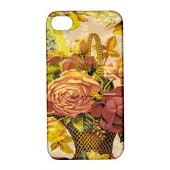 Victorian Background Apple iPhone 4/4S Hardshell Case with Stand