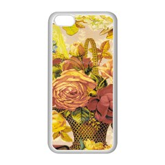 Victorian Background Apple iPhone 5C Seamless Case (White)