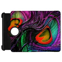Peacock Feather Rainbow Kindle Fire HD 7