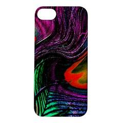 Peacock Feather Rainbow Apple iPhone 5S/ SE Hardshell Case