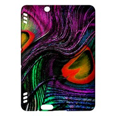 Peacock Feather Rainbow Kindle Fire Hdx Hardshell Case