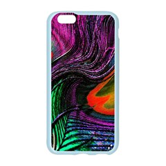 Peacock Feather Rainbow Apple Seamless iPhone 6/6S Case (Color)