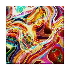 Colourful Abstract Background Design Tile Coasters