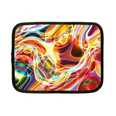 Colourful Abstract Background Design Netbook Case (small)