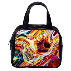 Colourful Abstract Background Design Classic Handbags (one Side)