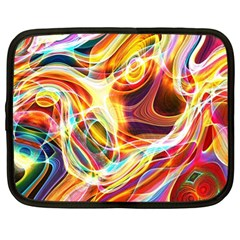 Colourful Abstract Background Design Netbook Case (xl)