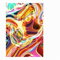 Colourful Abstract Background Design Small Garden Flag (Two Sides)