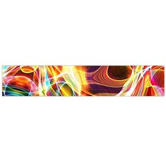 Colourful Abstract Background Design Flano Scarf (Large)