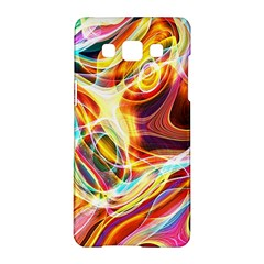 Colourful Abstract Background Design Samsung Galaxy A5 Hardshell Case