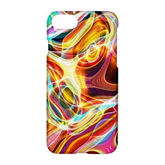 Colourful Abstract Background Design Apple Iphone 7 Hardshell Case