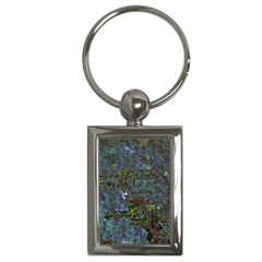 Stone Paints Texture Pattern Key Chains (rectangle)