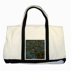 Stone Paints Texture Pattern Two Tone Tote Bag
