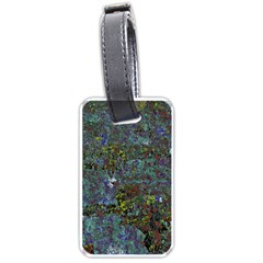 Stone Paints Texture Pattern Luggage Tags (two Sides)