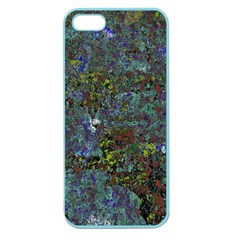 Stone Paints Texture Pattern Apple Seamless Iphone 5 Case (color)
