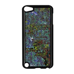 Stone Paints Texture Pattern Apple iPod Touch 5 Case (Black)