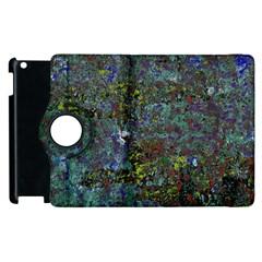 Stone Paints Texture Pattern Apple iPad 2 Flip 360 Case