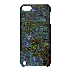 Stone Paints Texture Pattern Apple Ipod Touch 5 Hardshell Case With Stand