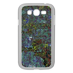 Stone Paints Texture Pattern Samsung Galaxy Grand DUOS I9082 Case (White)