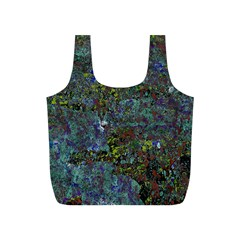Stone Paints Texture Pattern Full Print Recycle Bags (S)