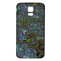 Stone Paints Texture Pattern Samsung Galaxy S5 Back Case (white)