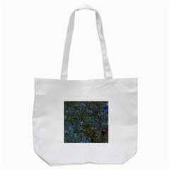Stone Paints Texture Pattern Tote Bag (White)