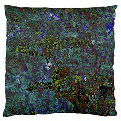 Stone Paints Texture Pattern Large Flano Cushion Case (One Side)
