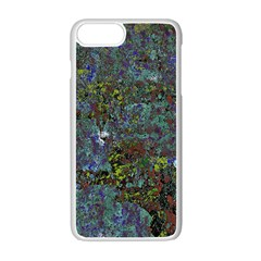 Stone Paints Texture Pattern Apple Iphone 7 Plus White Seamless Case